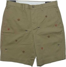 "Polo Ralph Lauren Men's 9"" Shorts Luxury Tan Crest 34 - $39.90"