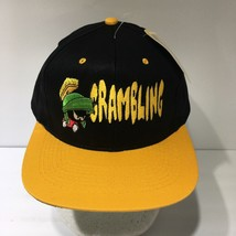 1993 Looney Tunes Marvin The Martian Grambling Snapback Cap Hat OSFA NWT - $69.30