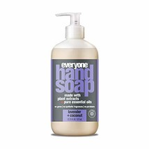 Everyone Hand Soap with Natural Botanical Ingredients and Essential Oils, Lavend