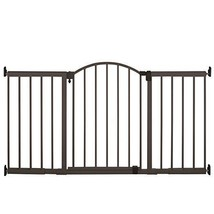 Summer Infant Metal Expansion Gate 6 Foot Wide Extra Tall Walk Thru Bron... - $157.74