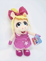 Disney Junior Baby Miss Piggy Plush Muppet Babies 8in Kids Toys New With... - $8.51