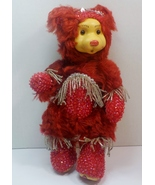 Robert Raikes Bedazzled Birthstone Bears July Ruby 2001 limited edition - $44.00