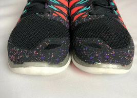 NIKE FREE 5.0 Running Gym Fitness Shoes Black Hyper Jade Galaxy Womens Size 8.5 image 12