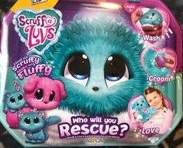 New Little Live Pets Scruff-A-Luv, Puppy Kitten Or Bunny, BLUE  - $13.85