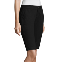 Arizona Jean Co. Women's Bermuda Shorts Black Size 15 NEW W Tags - $21.77