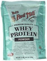Bob's Red Mill Whey Protein Concentrate, 12-Ounce Bags (Pack of 4) - $74.24