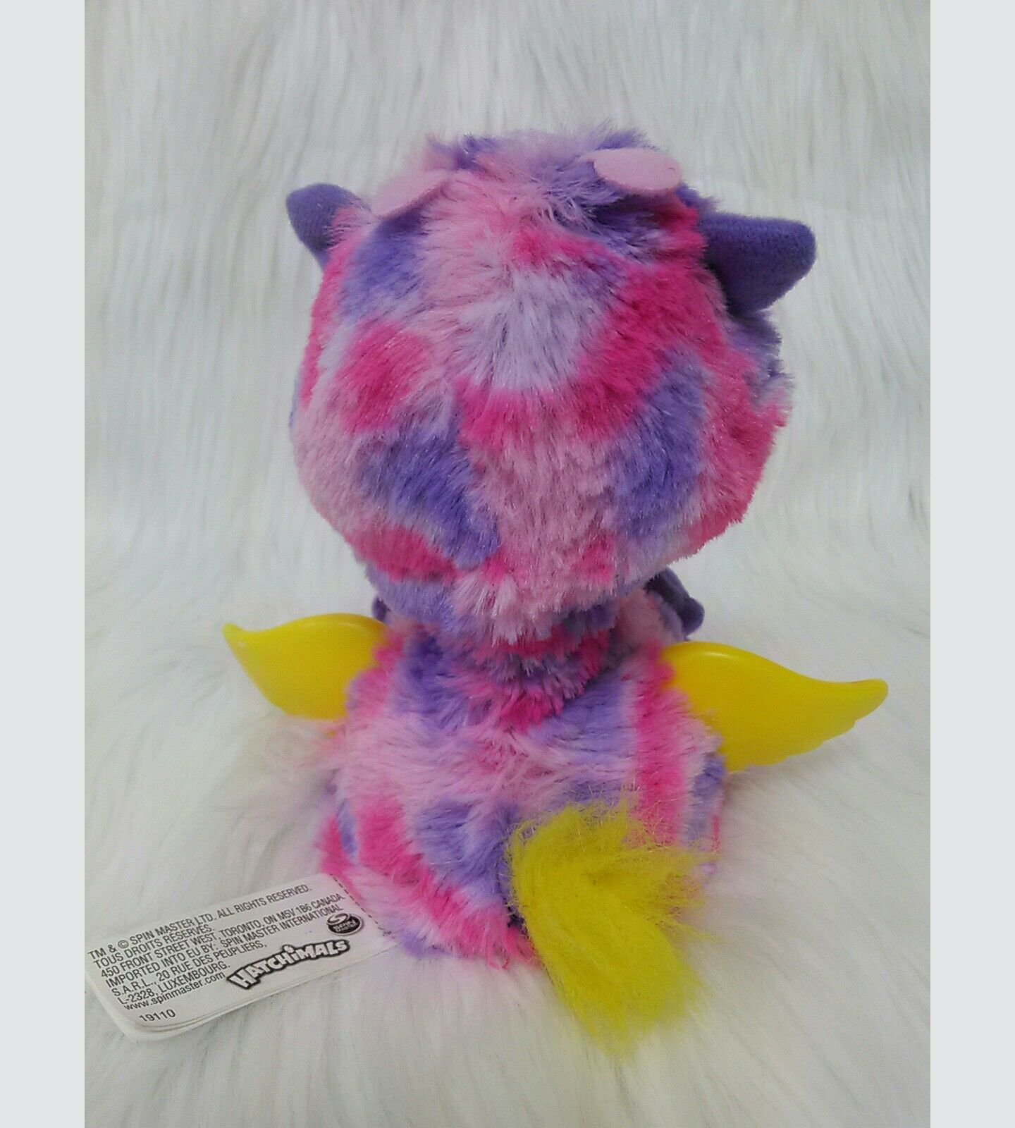 Hatchimals Surprise Twin Giraven Pink Purple ElectronicToy Spin Master B350