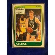 1988-89 Fleer #9 Larry Bird ! BOSTON CELTICS - $9.45