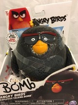 Angry Birds - Explosive Talking Bomb - Action Figure New - Move Wing To Talk - $12.86