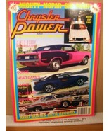Chrysler Power Magazine January 1992 Reed Buries SS/A Record, Bonneville - $8.99