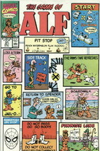 Alf Tv Series Comic Book #31 Marvel Comics 1990 Very Fine+ New Unread - $3.25