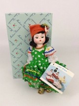 Madame Alexander Little Women Brazil Plastic Doll with Full Outfit Tags Vintage - $25.69