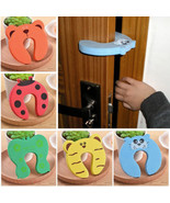 5 x Children Baby Cartoon Animal Jammers Stop Edge Angle Door Stopper Wa... - $10.70