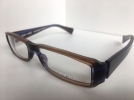 New ALAIN MIKLI AL 0777 AL0777 17 52mm Brown Purple Eyeglasses Frame France - $342.19
