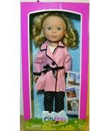 """2018 Cititoy CITY PALS Paris Penelope Doll 14 1/2"""" - $20.79"""