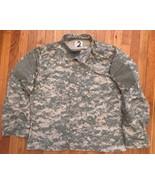 US ARMY MILITARY ACU DIGITAL CAMO CAMOUFLAGE COMBAT JACKET LARGE REGULAR LR - $39.99
