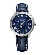 Raymond Weil 2239-STC-00509 Maestro Men's Automatic Moonphase Leather Watch - $769.30
