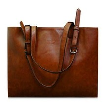 Laconic Style Solid Color and PU Leather Design... - $14.14