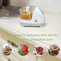 Dual Blade FOOD CHOPPER 1.5 Cup One-Touch Mini vegetable herbs onion Pro... - $20.80