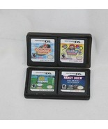 Lot 4 Nintendo DS Girls/Kids Games w/ Case - Cooking & Crafting Mama, Na... - $22.71