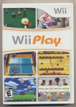 WII PLAY Wii Game Complete Box, Manual, Disc Very Good Condition - $10.89