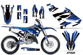 Decal Graphic Kit Wrap + Number Plates For Yamaha YZ125 YZ250 2015-2018 ATTACK U - $249.95