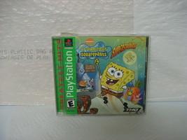 SpongeBob SquarePants: SuperSponge (Sony PlayStation 1, 2001) - $8.99