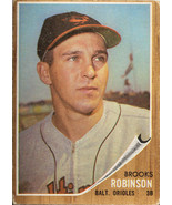 1962 TOPPS BROOKS ROBINSON BALTIMORE ORIOLES #45  (MR) - $296.99
