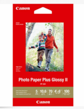 "Canon PP-301 Photo Paper Plus Glossy II (4 x 6"")  100 Sheets - $16.82"
