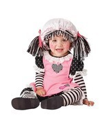 INFANT TODDLER BABY DOLL RAGGEDY ANN TOY KIDS CHILD HALLOWEEN COSTUME 10029 - €23,84 EUR
