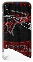 Atlanta Falcons Merry Christmas Phone XS, XS Max, XR, X, iPhone 6 7 8 Plus Case - $16.99