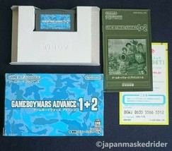 Used Game Boy Wars Advance 1 + 2 operation confirmed 2004 War simulation... - $70.13