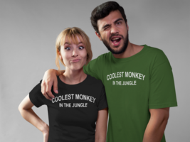 Coolest monkey in the jungle Shirt Coolest monkey in the jungle T Shirt - $12.95