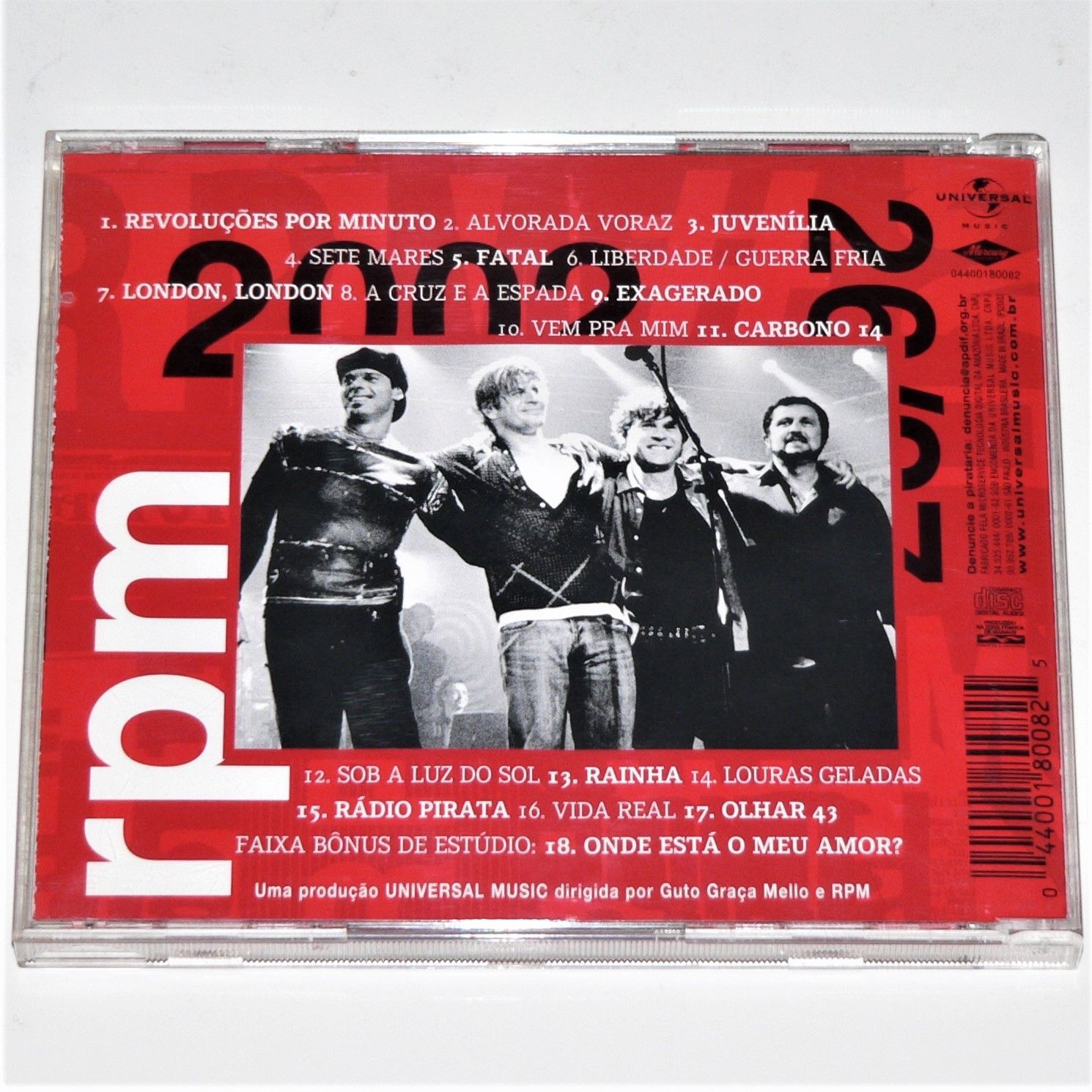 Amor Voraz rpm - radio pirata / mtv 2002 - 2 x cd and similar items