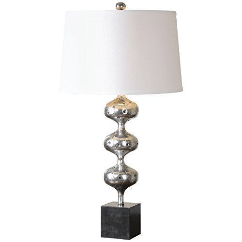 Uttermost 26185 Cloelia Lamp, Polished Silver