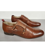 H by Hudson 'Fernland' Double Monk Shoes Mens Size 10 US / 43 EU - $44.99