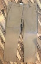 Gap Women's Khaki Tailored Crop Dress Pants Sz 12 - $22.76