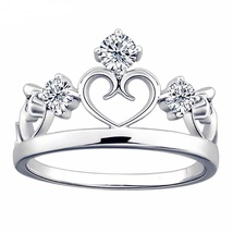 L crown princess rings for women wedding rings girls party friendship rings.jpg 640x640 thumb200