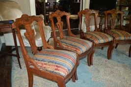 Dining Chairs Eastlake Victorian 1880 - $500.00