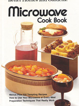 Better Homes & Gardens Microwave Cook Book 1976 HC - $8.99