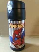 The Amazing Spider-Man  FUNTAINER Thermos 12oz Insulated Bottle Cold Dri... - $13.99