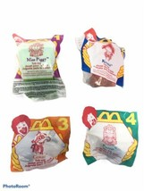 Disney McDonalds 1995 Happy Meal Toys MUPPETS  SET #1- #4 LOT 4 NEW - $23.74