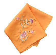 Set of 2 Chinese Style Ladies/Women's Embroidered Handkerchiefs, Pattern-4 - £10.69 GBP