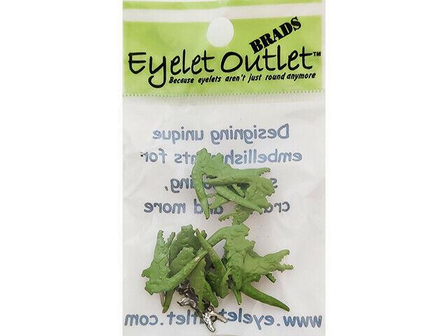 Eyelet Outlet Alligator Brads, 12 Count