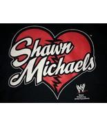HBK Shawn Michaels WWE Black T-Shirt HEART WWF Steve & Barry's 100% Cott... - $46.95
