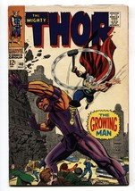 Thor #140 1967 comic book- Marvel Silver Age- Growing Man VG - $25.22