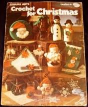Crochet For Christmas - Leisure Arts # 81 (1976) - $2.84