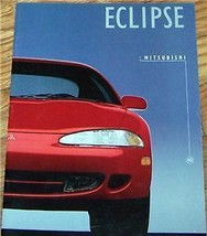 1995  Mitsubishi Eclipse Owners Sales Brochure Parts Service Technical - $19.99