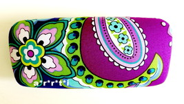 Vera Bradley Hard Clamshell Eyeglass Sunglass Case Heather NWOT - $29.00
