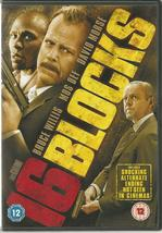 16 BLOCKS - U.K. Region 2 DVD - Bruce Willis / Mos Def / David Morse - $5.19